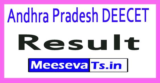 Andhra Pradesh DEECET Result 2017