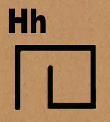 Letter H in hieroglyphics