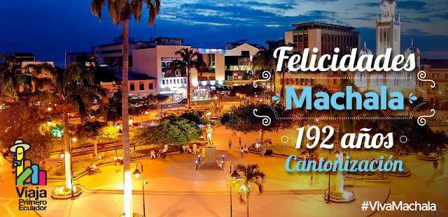 Programa eventos Fiestas de Machala 2016