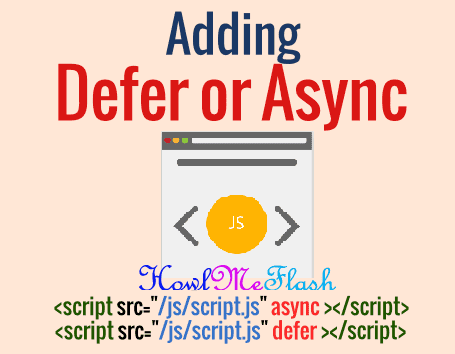 How to Add Defer and Async Attributes for External Scripts
