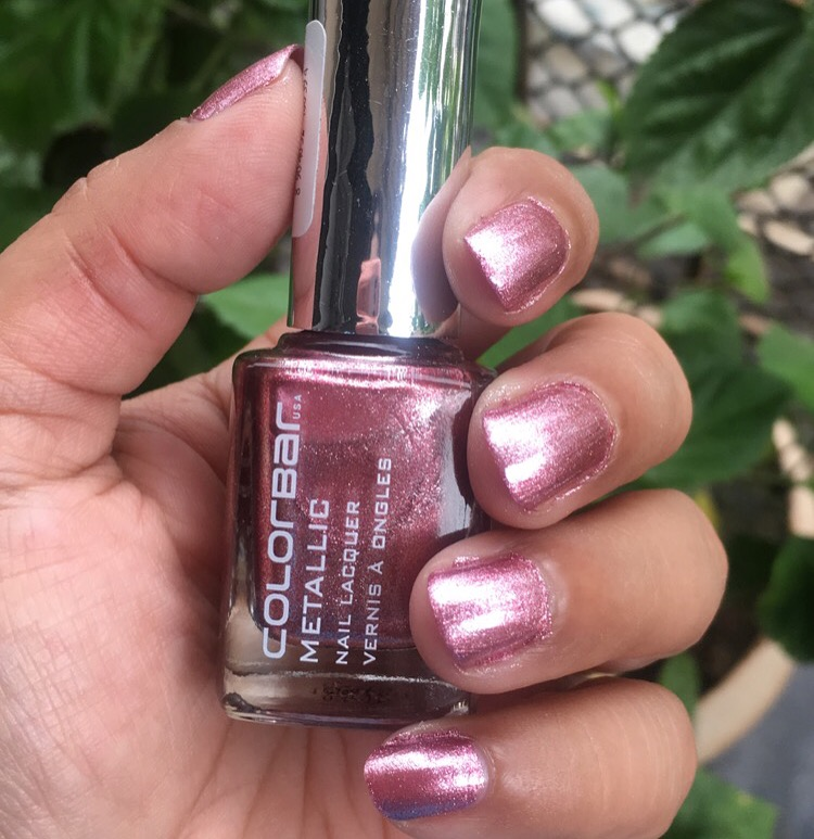 The Color Pink Smith Is A Metallic Peachy Which So Amazing Even For Daily Wear Obviously Parties It Stunner