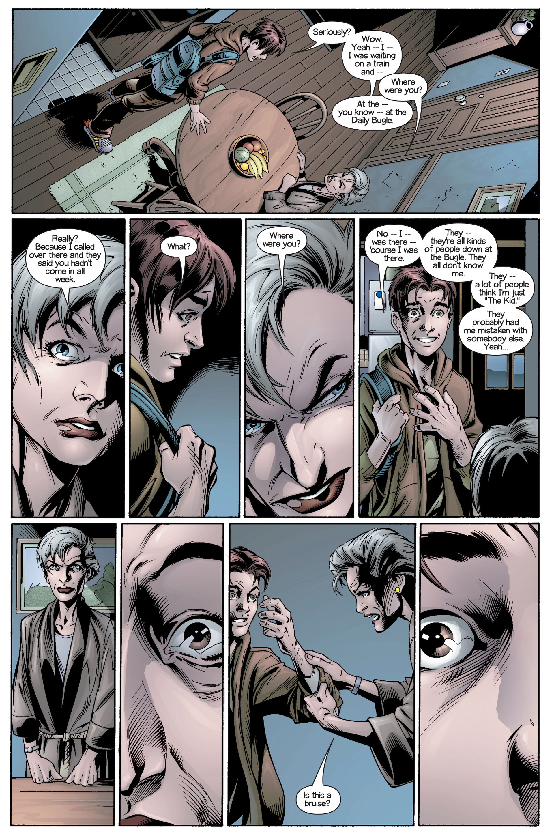 Read online Ultimate Spider-Man (2000) comic -  Issue #21 - 13