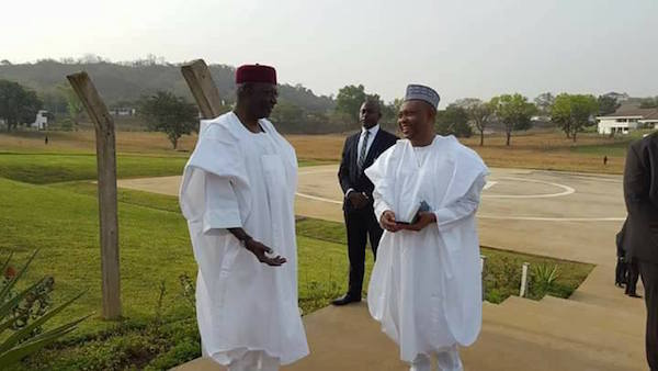 PHOTOS: Aso Rock Getting Ready For Buhari's Return From London