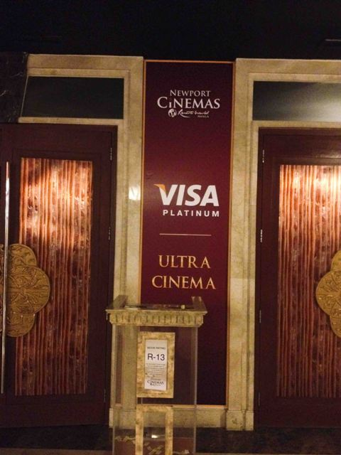 Ultra Cinema at Resorts World Manila entrance