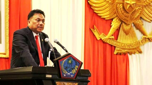 Gubernur Jelaskan Perubahan APBD 2018 di Rapat Paripurna DPRD Sulut