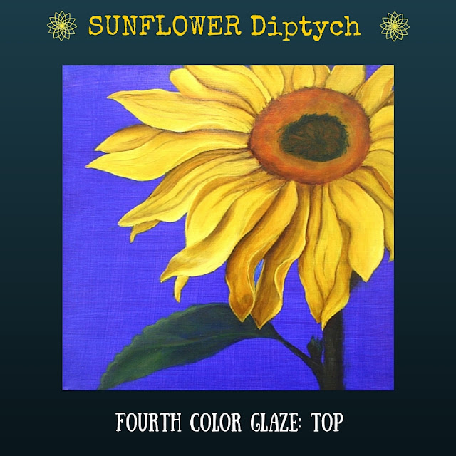Fourth color glaze TOP Sunflower