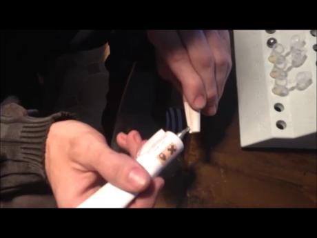 fabrication de cartouche en papier