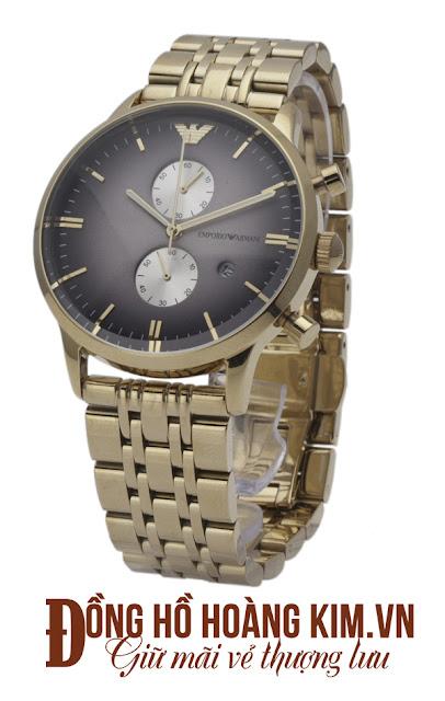 Đồng hồ đeo tay nam Armani dây sắt đáng mua nhất 2016