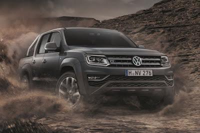 Volkswagen Amarok Aventura (2018) Front Side