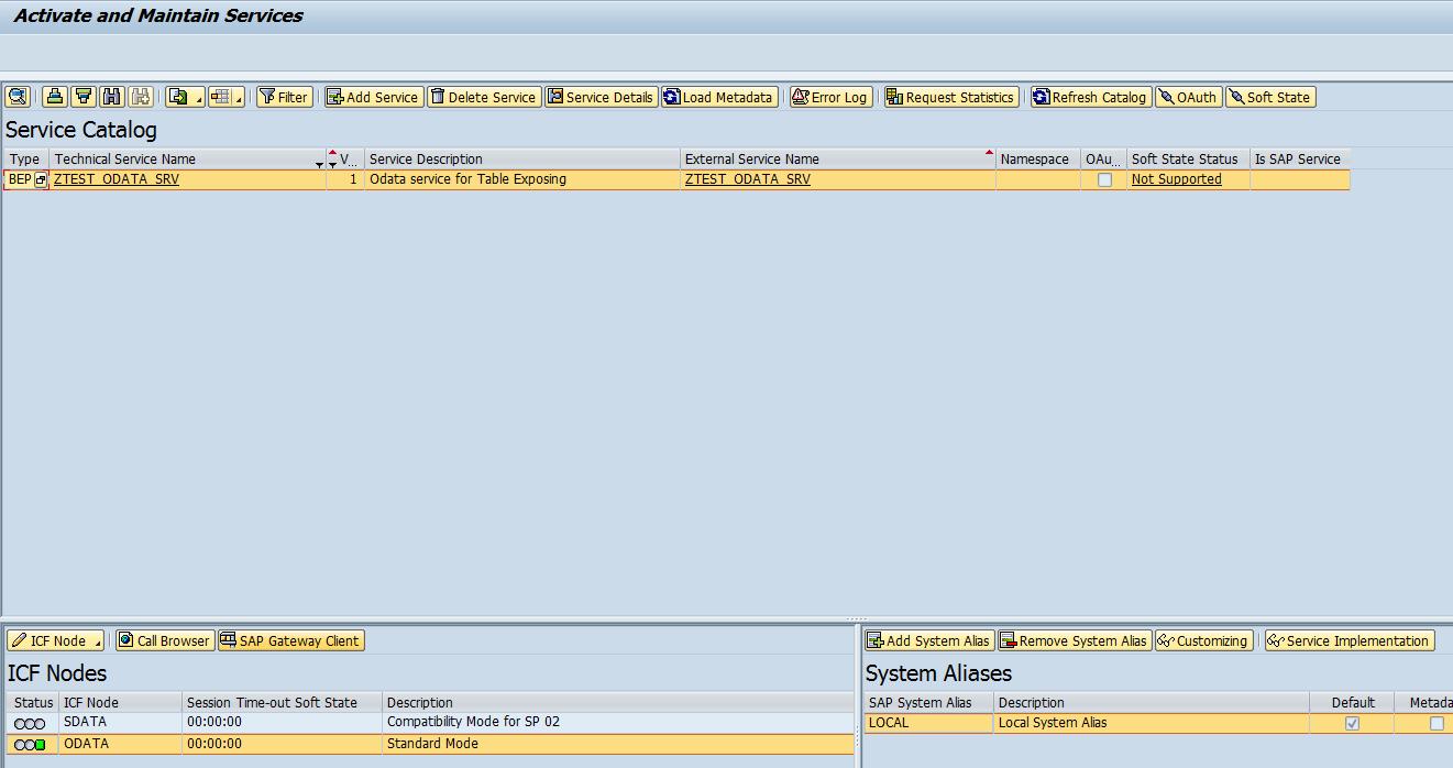 Step by Step Gateway Odata Service Creation Using SEGW - method 1