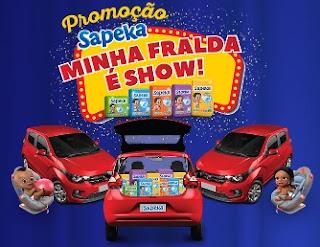 Cadastrar Promoção Fraldas Sapeka 2017 Minha Fralda É Show