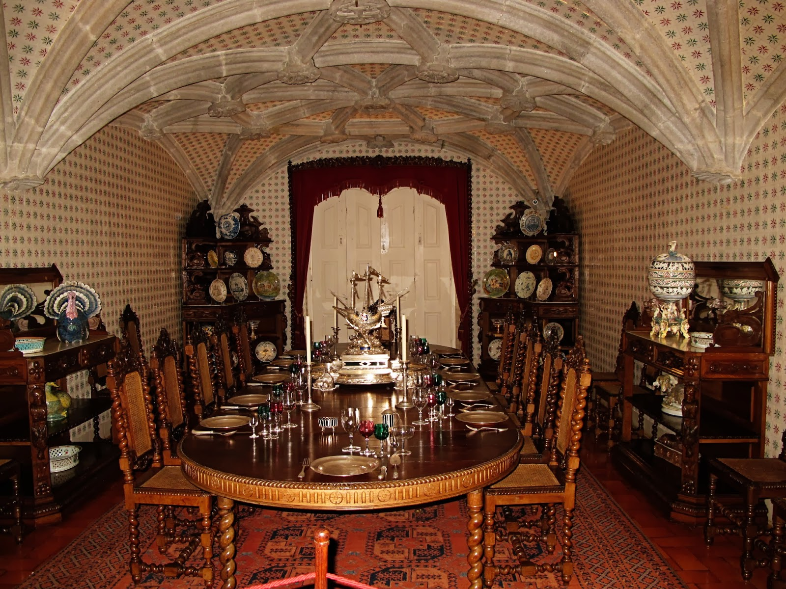 Sintra pena national palace part ii christine loves to for Html table inside th