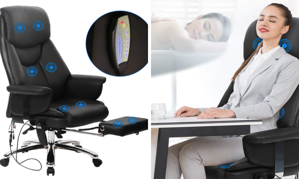BestOffice New Gaming Chair High-Back Computer Chair