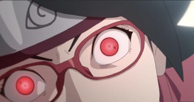 'Naruto' Reveals Sarada's Most Impressive Sharingan Move Yet