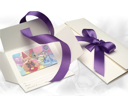 Custom Gift Card Boxes April 2016