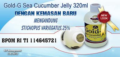 Jelly GAMAT GOLD G Asli -  Surabaya COD
