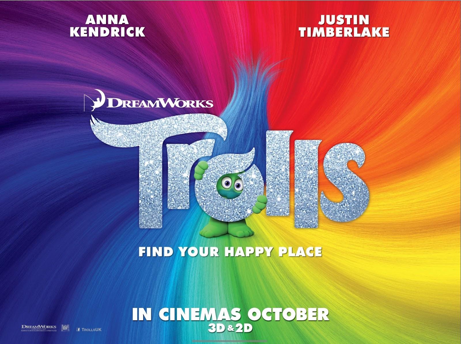 poster TROLLS cinema