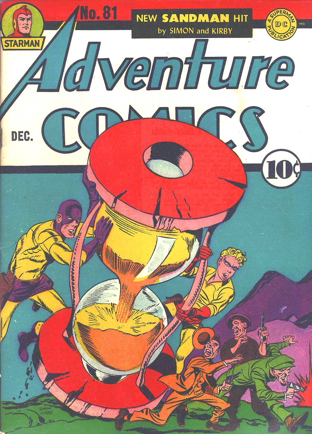 Read online Adventure Comics (1938) comic -  Issue #81 - 1