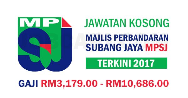 Jawatan Kosong Terbaru Di Majlis Perbandaran Subang Jaya Mpsj Tetap Berpencen Gaji Rm3 179 00 Rm10 686 00 Jobcari Com Jawatan Kosong Terkini