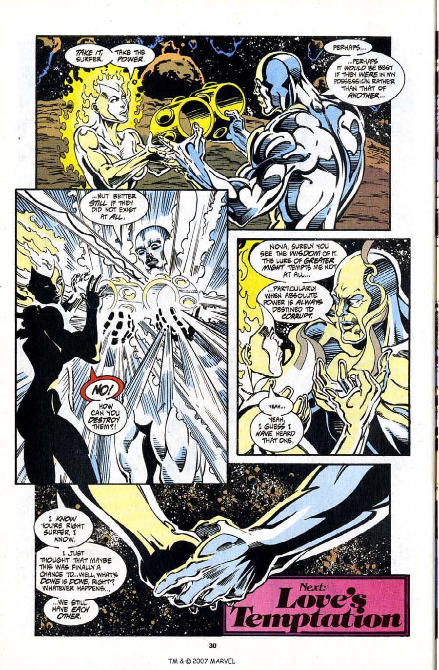 Read online Silver Surfer (1987) comic -  Issue #98 - 32
