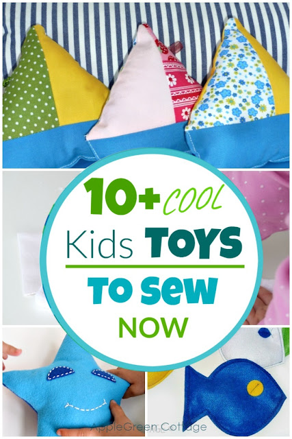 10 Cool Gifts For Kids You Can Sew Applegreen Cottage