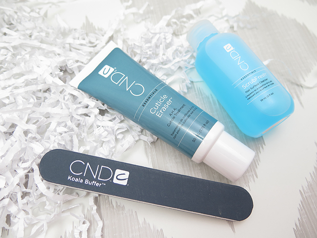 CND Koala Buffer, Cuticle Eraser and ScrubFresh Nail Surface Cleanser Review