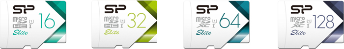 シリコンパワー(Silicon Power)microSDHC/microSDXC「Elite」の新モデル