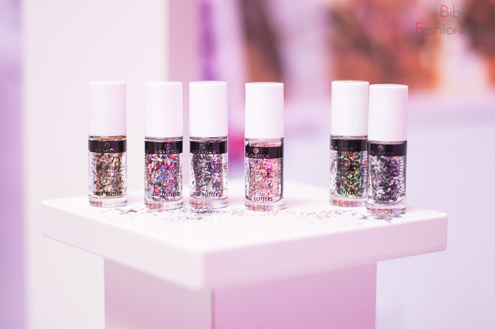 essence Blogger Event Spring Summer 2018 Frankfurt Loose Glitter