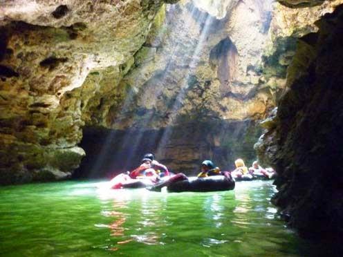 Goa Pindul yang berada di Dusun Gelaran I Wisata Alam Goa Pindul Gunungkidul : Nikmati Alam Dengan Cave Tubing