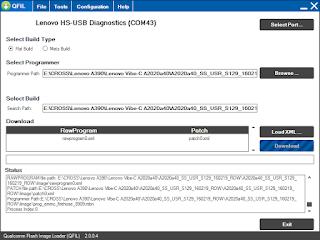 Tutorial Flash Lenovo Phab Plus Mudah Via QPST Download