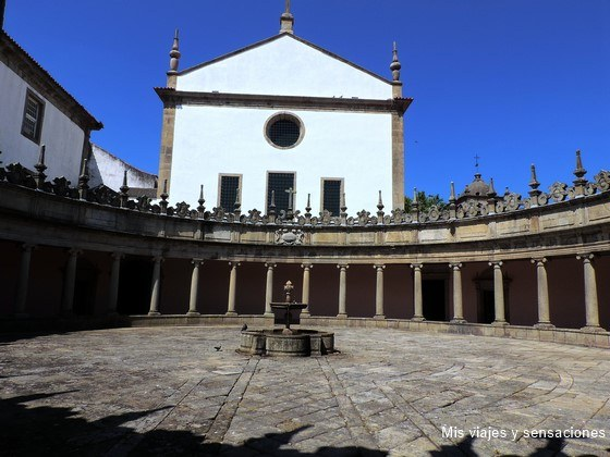 Monasterio Serra do Pilar, Oporto, Portugal