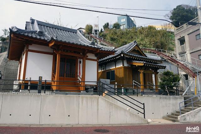 玄海島のお寺、福岡