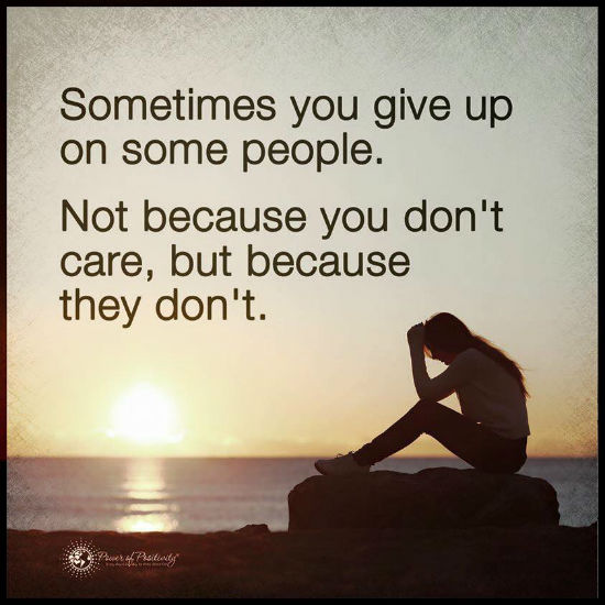 give up quotes