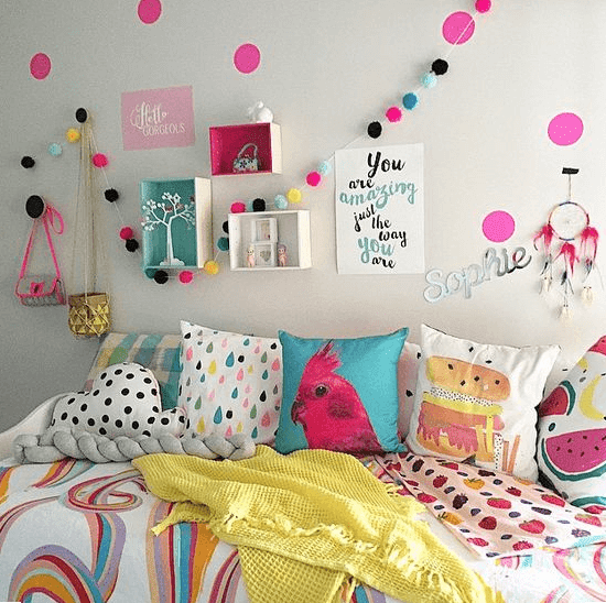cara menghias kamar tidur anak perempuan