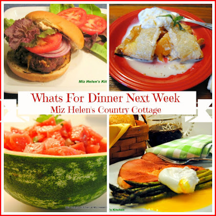 Whats For Dinner Next Week * Week Of 6-17-18