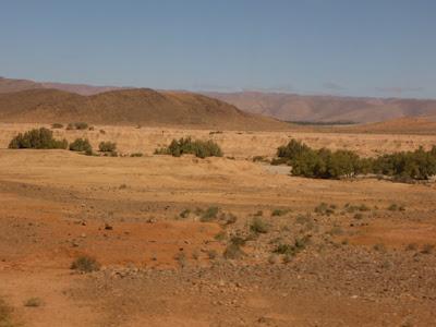 Berg, Wüste, Farben