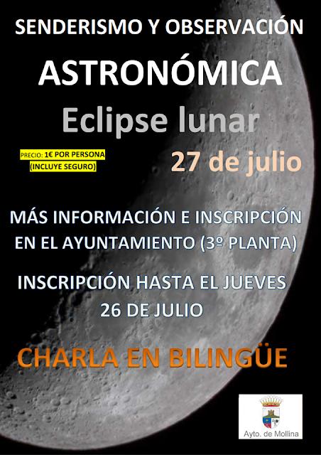 Observación de Eclipse Lunar en Mollina