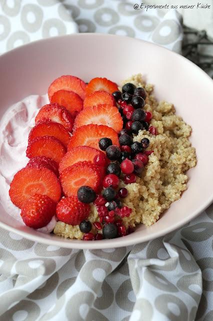 Quinoa-Beeren-Bowl | Rezept | Frühstück | Weight Watchers