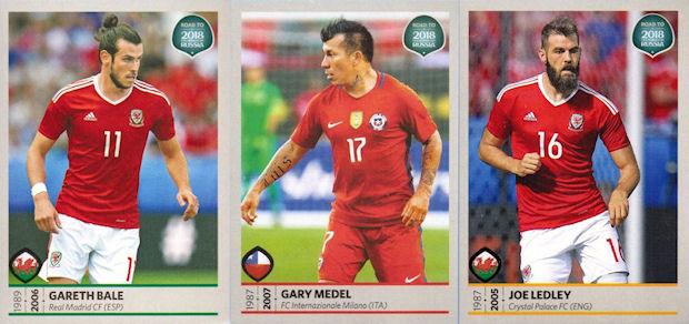 9ced2616e41 Panini - Road to 2018 FIFA World Cup Russia sticker collection (06) -  Checklist. 2017