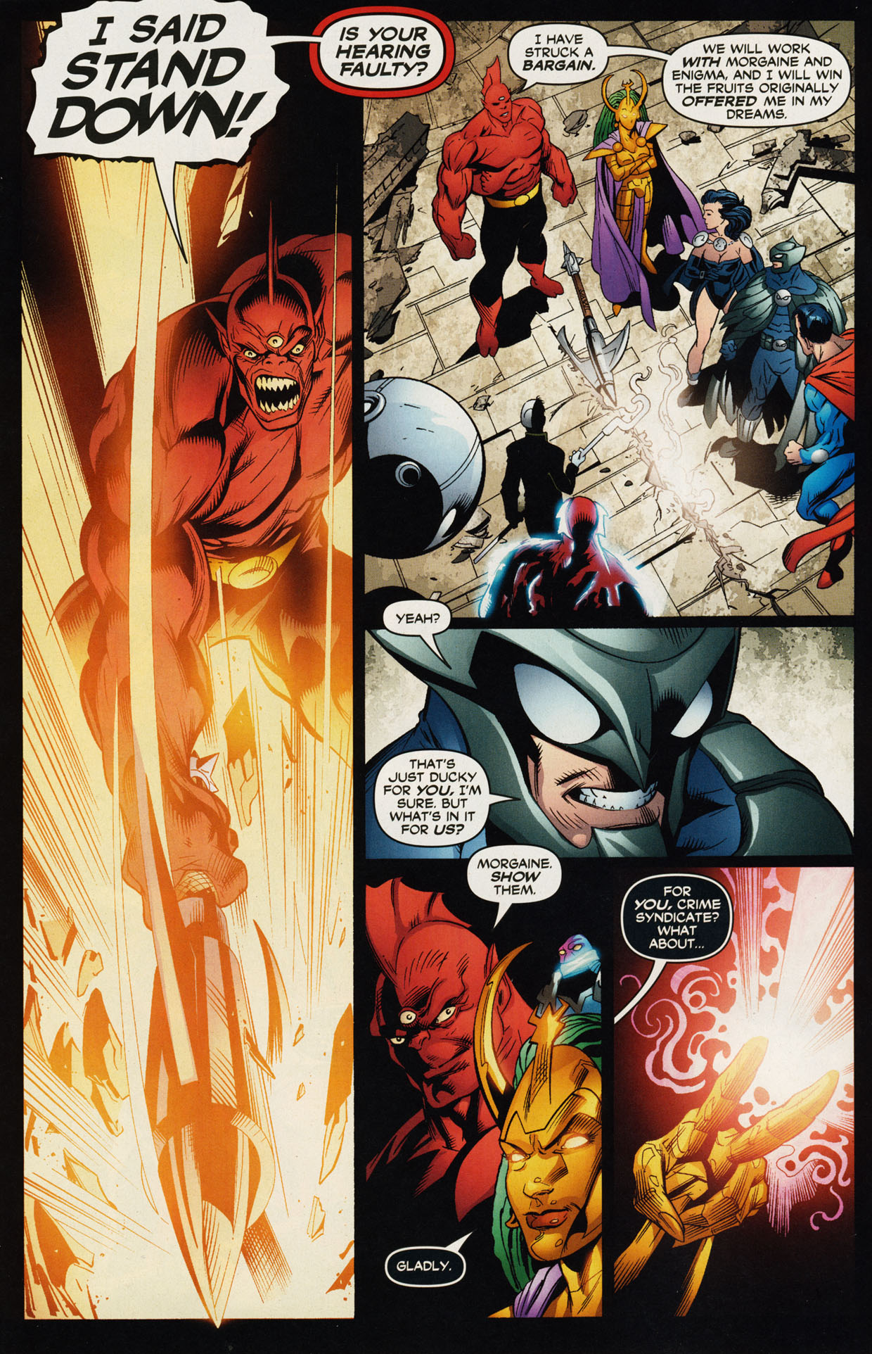 Read online Trinity (2008) comic -  Issue #44 - 9