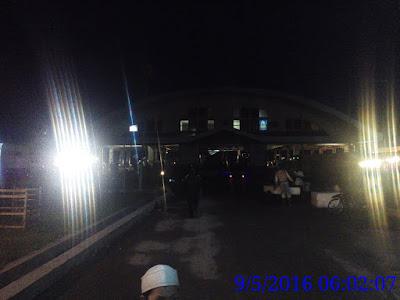 menuju hall utama Pelabuhan Ikan Lampulo
