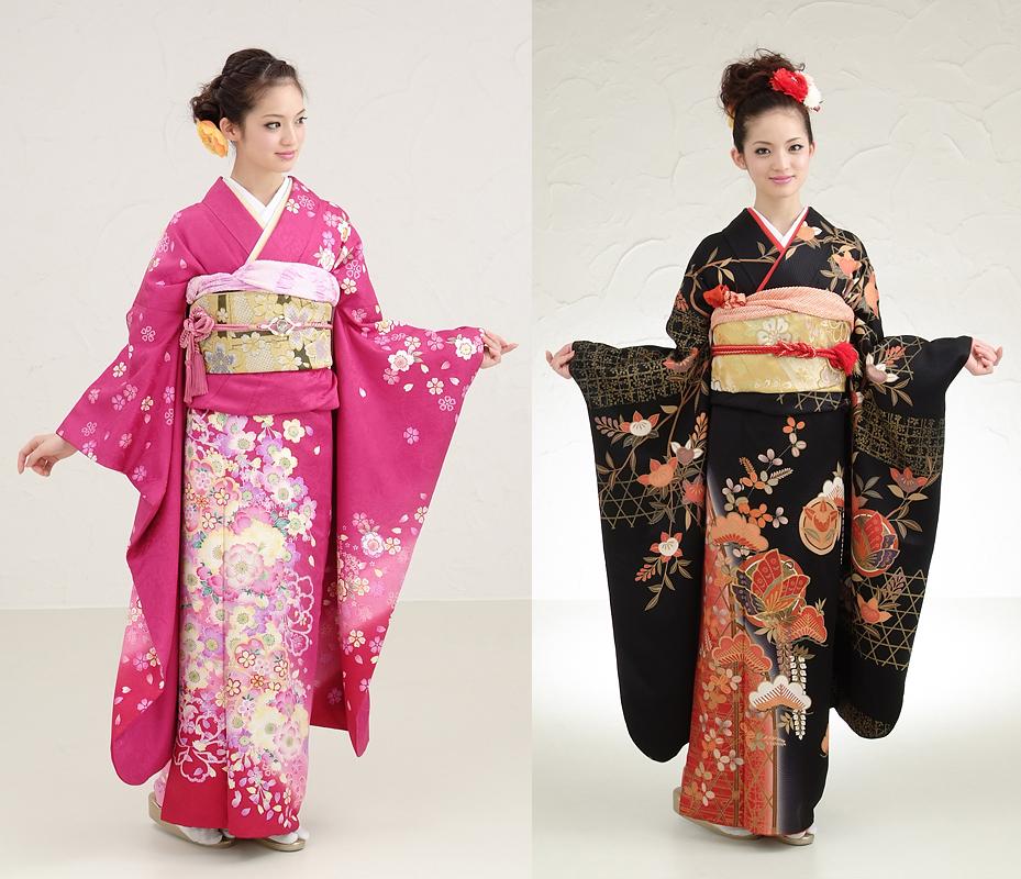 Hanami Types Of Kimono Furisode