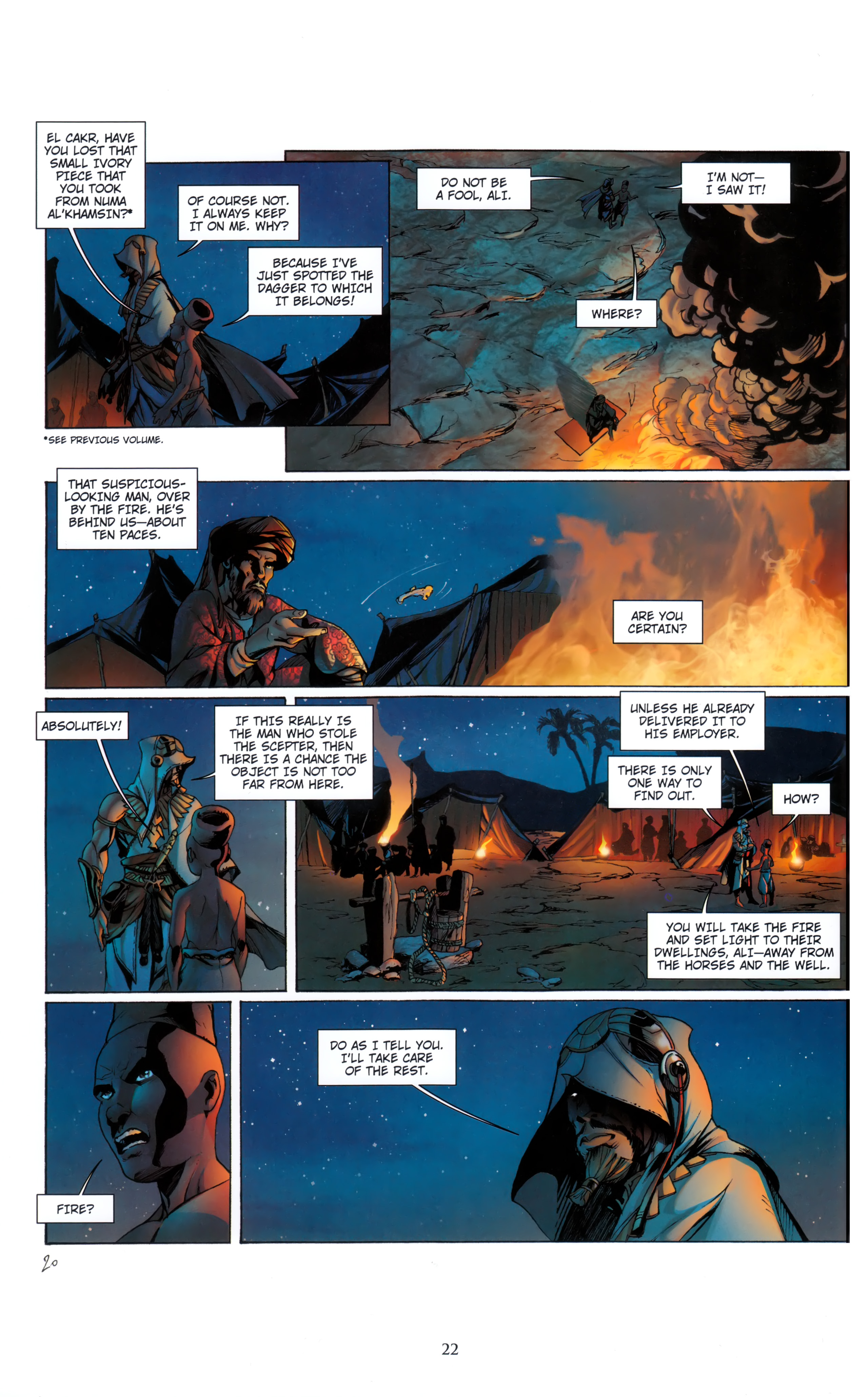 Read online Assassin's Creed (2012) comic -  Issue #5 - 22
