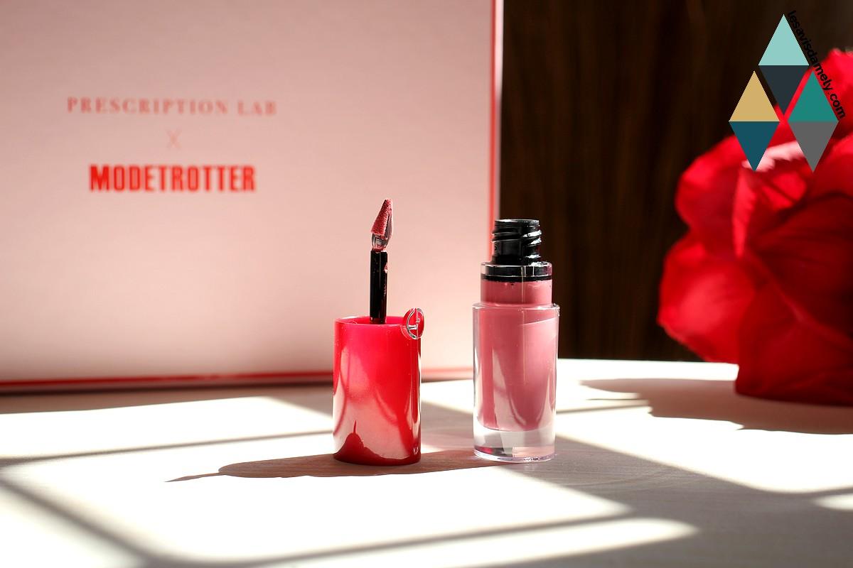 rouge à lèvres lip magnet giorgio armani revue beauté