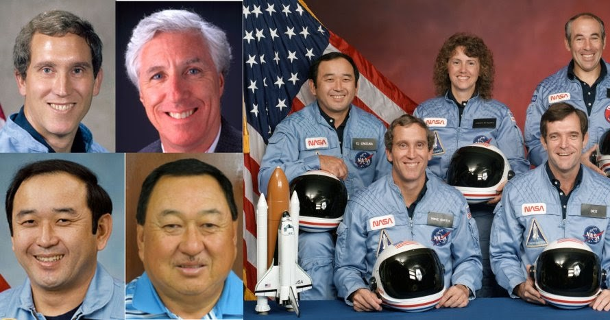 Image result for dead alive space shuttle challenger crew