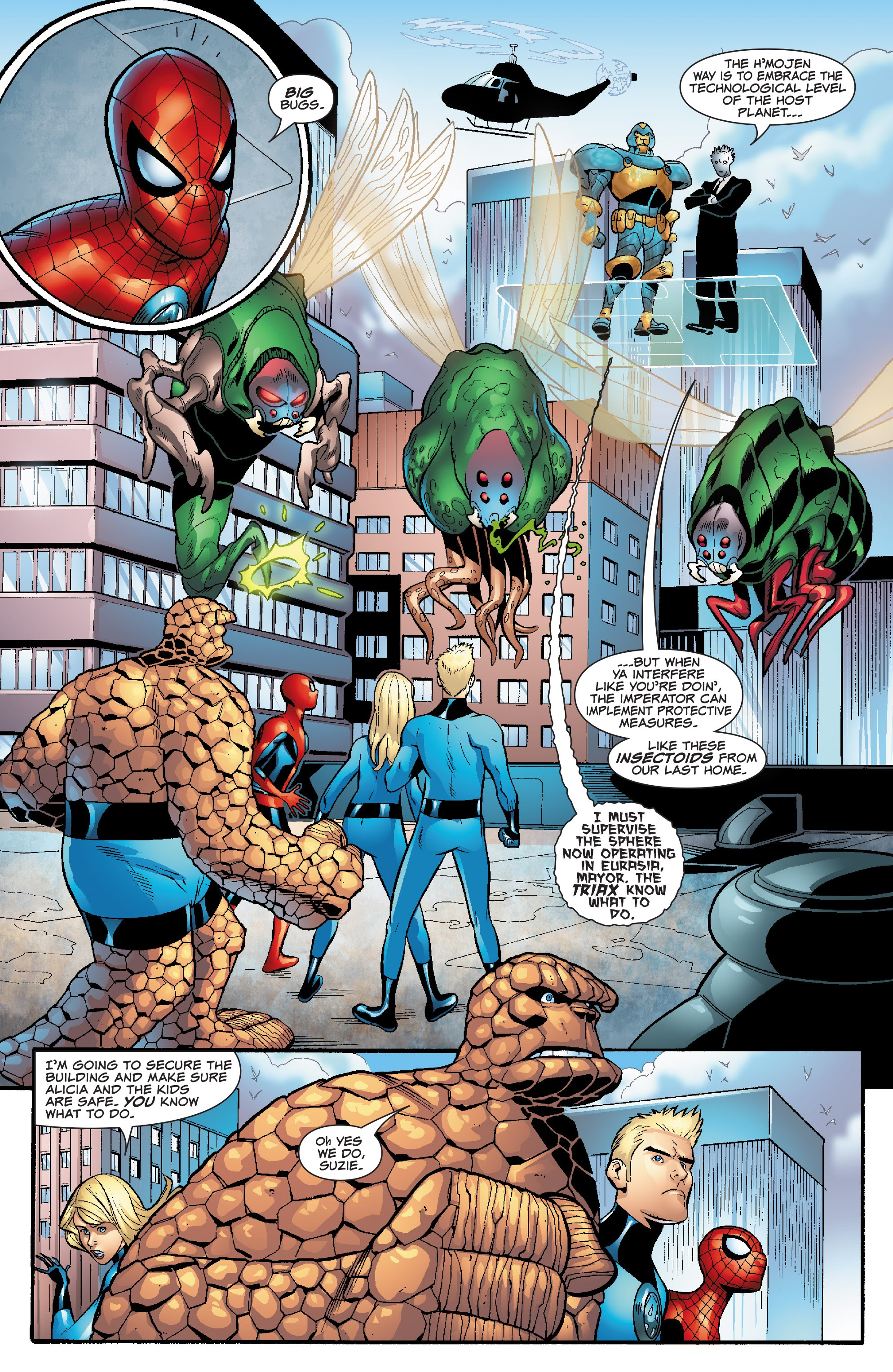 Spider-Man and the Fantastic Four issue 3 - Page 4
