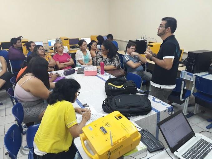 1a Formação Google for Education do NTE: Escola Gaudêncio Ramos