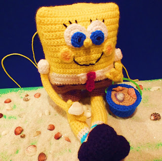 Craftdrawer Crafts: Free Crochet Spongebob Square Pants Pattern