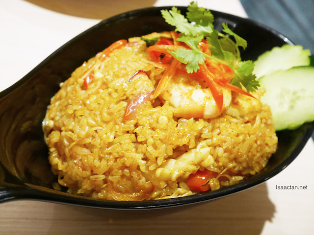 Seafood Tom Yam Fried Rice - RM22.90