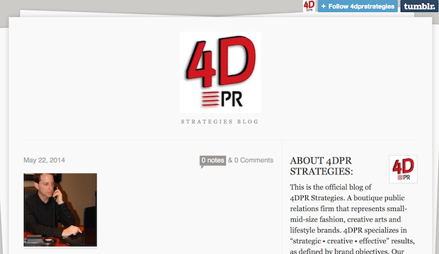 Some PR strategies for you indie creatives brought to you by 4DPR